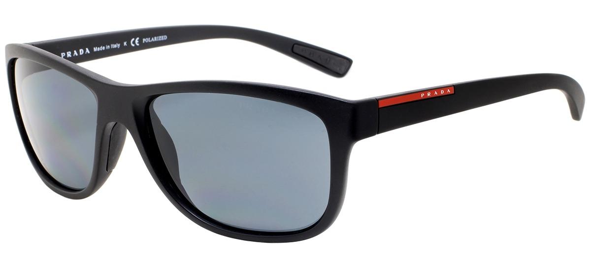 Oculos De Sol Masculino Armacao Aco Prateado Lente Cinza Polarizado Ps54Is  5Av5Z1 65 Prada Linea Ro - Duty Free Dufry. preto   cinza preto   cinza. b9d9e10428