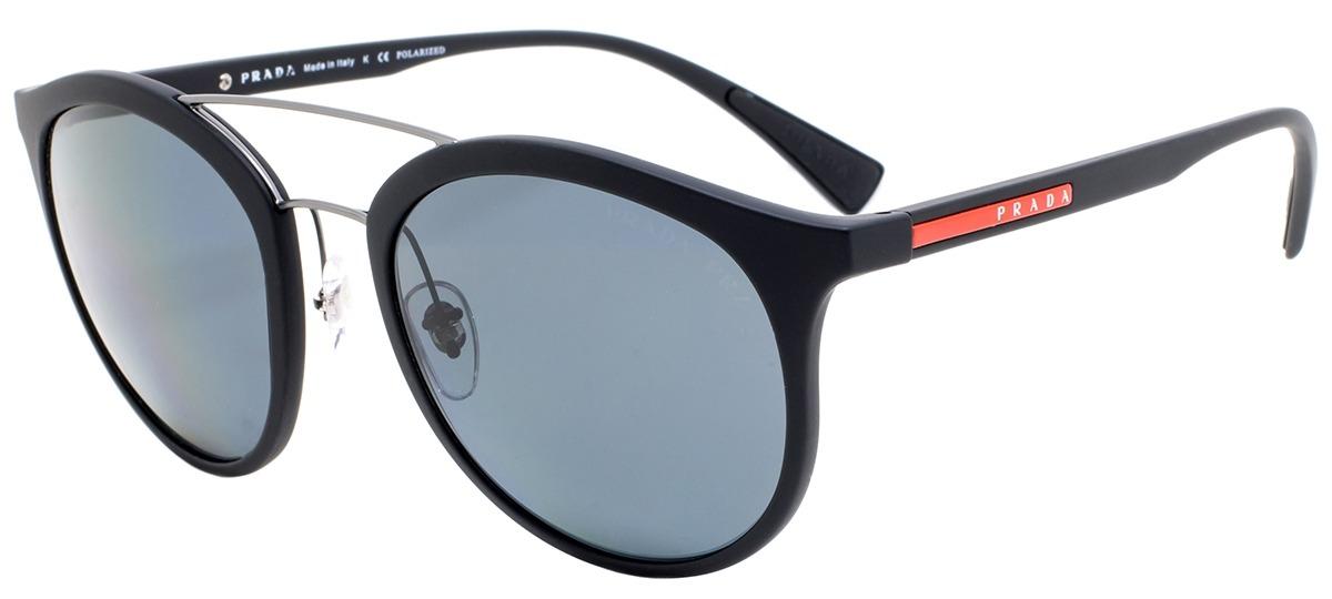0cbdf196c Imagem Óculos de Sol Prada Linea Rossa 04RS DG0-5Z1. Mais cores do mesmo  modelo. preto / cinza