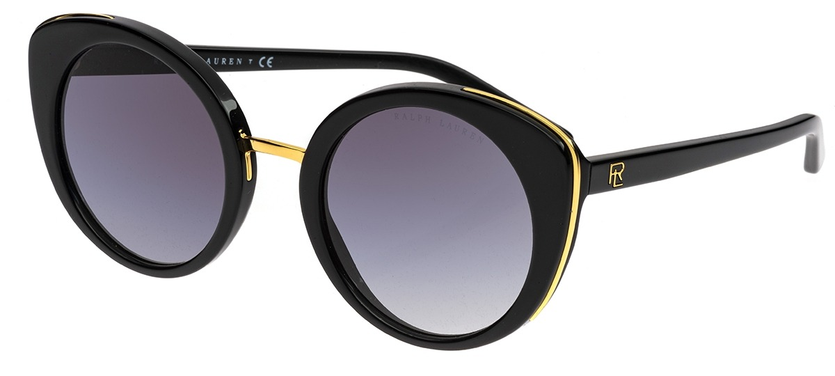 b286d98ae7296 preto   dourado preto   dourado. rosa   prata rosa   prata. Óculos de Sol  Ralph Lauren 8165 5001 8G ...