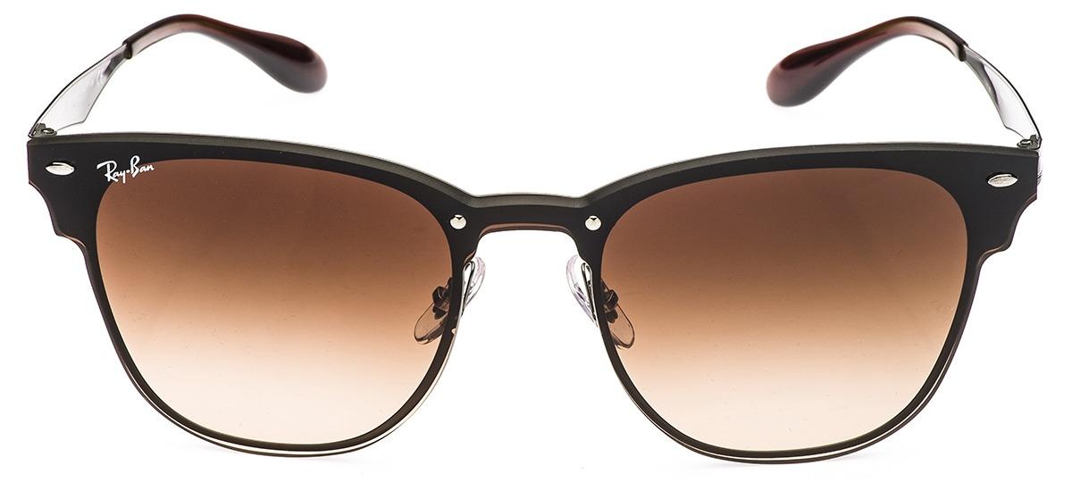 943fac366 Óculos de Sol Ray Ban Blaze Clubmaster 3576-N 041/13 > Ótica Mori