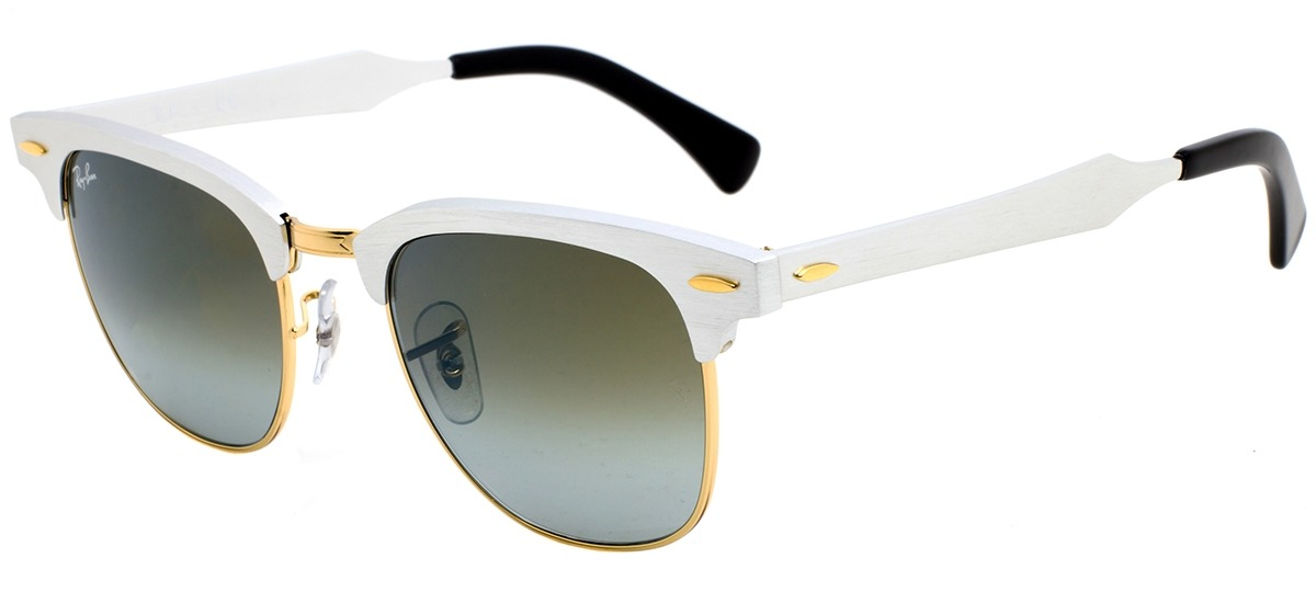 85db10a0142b4 prata   dourado   verde prata   dourado   verde · Óculos de Sol Ray Ban  Clubmaster ...