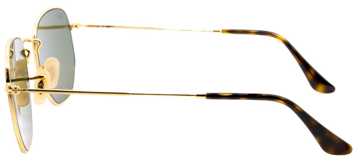 fd40a5c0f31c0 Óculos de Sol Ray Ban Hexagonal Metal 3548-N 001 30   Ótica Mori