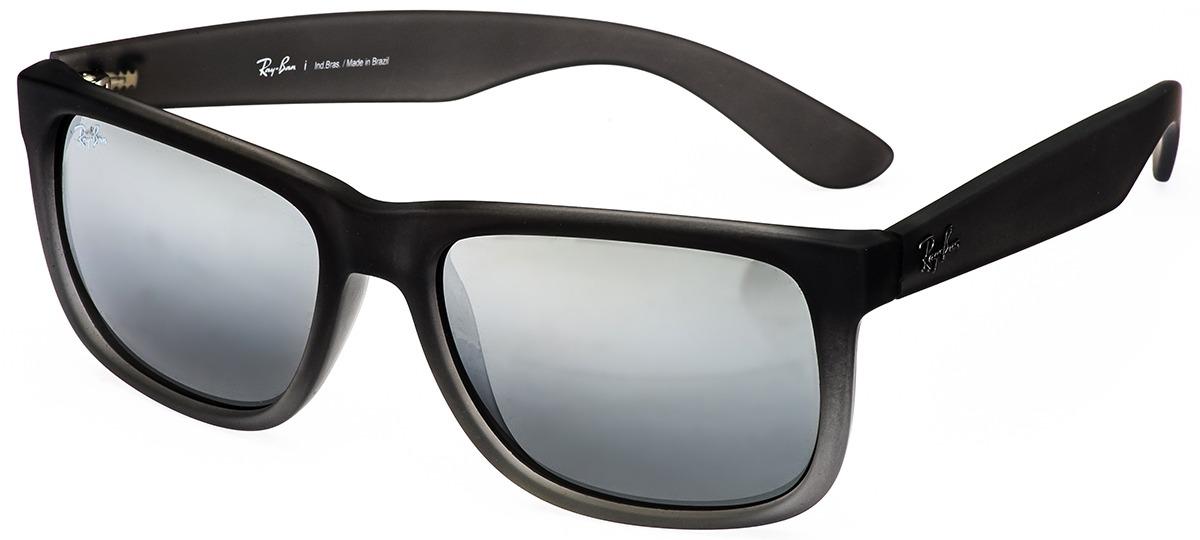 261005fd9ce47 cinza cinza · marrom marrom · preto preto · Óculos de Sol Ray Ban Justin  4165L 852 88 ...