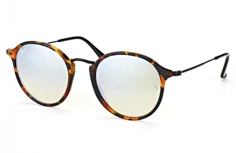 47d12e6439f9b Óculos de Sol Ray Ban Round Fleck 2447 1157 9u   Ótica Mori