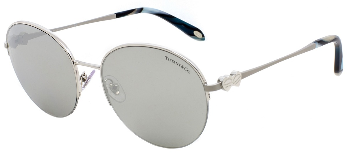 prata prata · Óculos de Sol Tiffany   Co. Return To Tiffany Heart Tag TF  3053 6108  ... 1e0ed3afb4