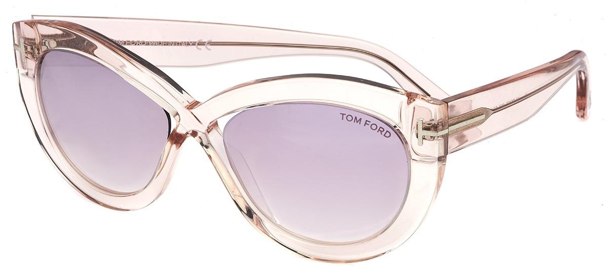 c02b0b47f687e rosa transparente rosa transparente · marrom marrom · Óculos de Sol Tom  Ford Diane-02 577 ...