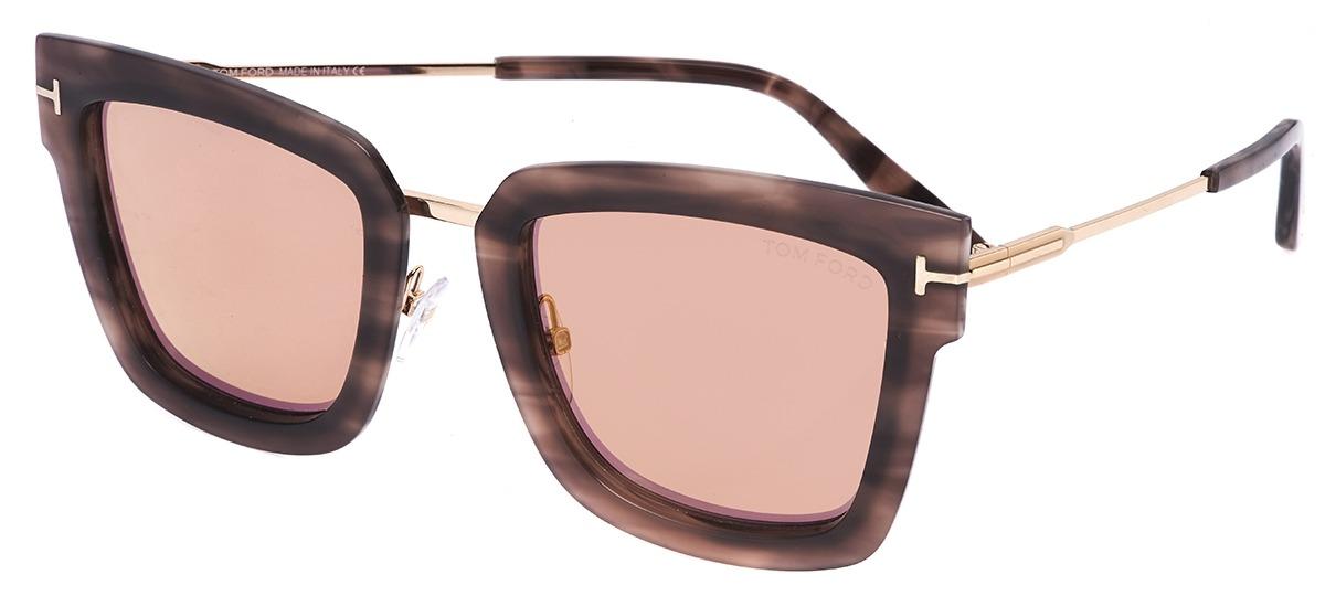 0287543593606 marrom   dourado marrom   dourado · Óculos de Sol Tom Ford ...