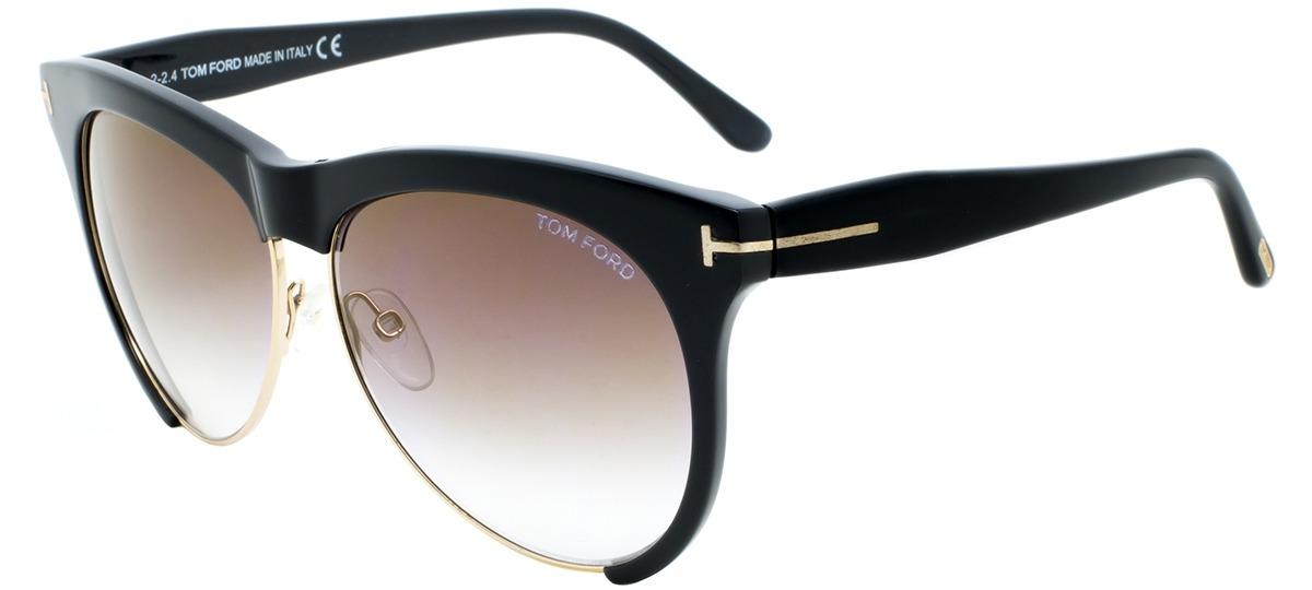 Óculos de Sol Tom Ford Leona 365 01g   Ótica Mori 6bbd2c3c81