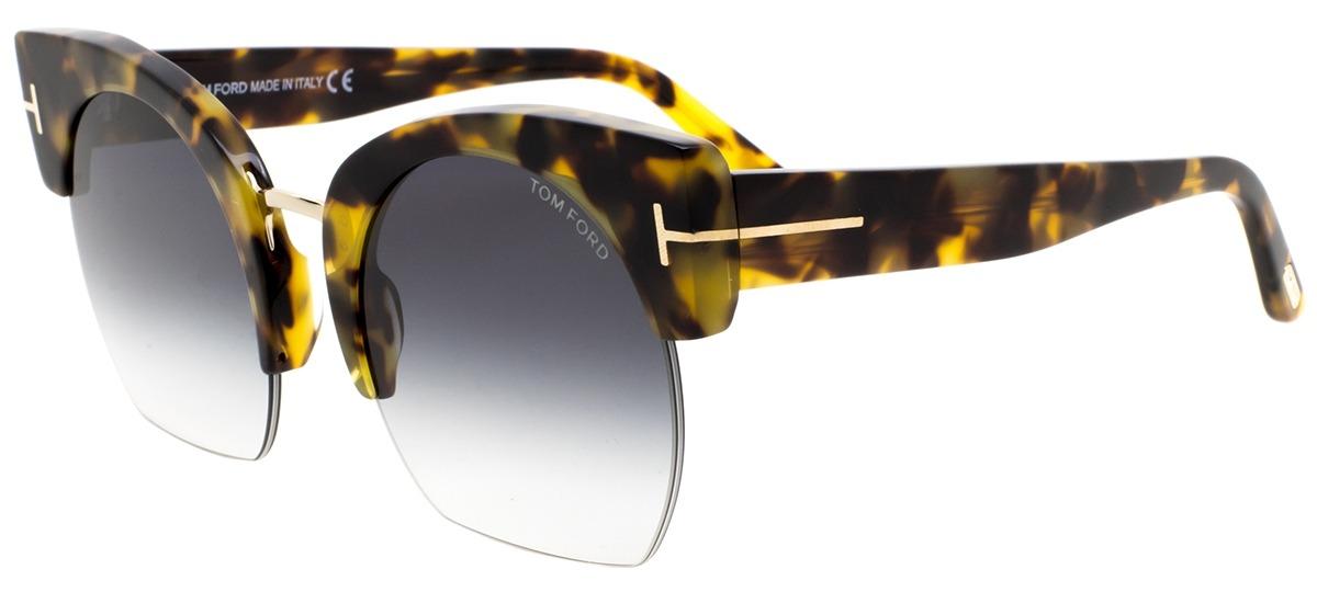 5b5ffea4bcbbd marrom   dourado marrom   dourado · Óculos de Sol Tom Ford Savannah-02 552  56B ...