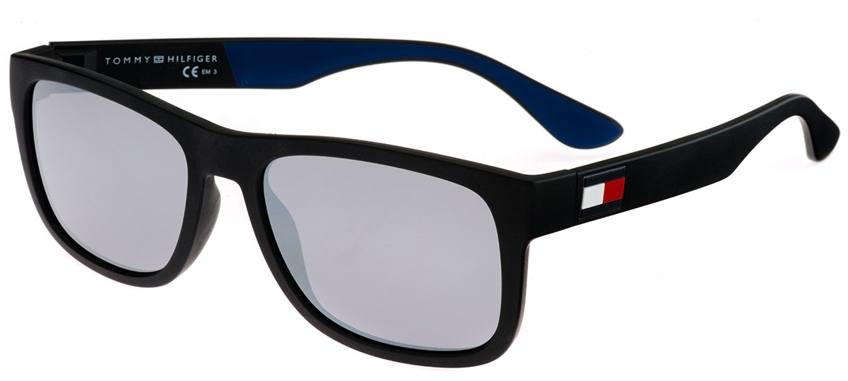 585c0eeb7 Imagem Óculos de Sol Tommy Hilfiger 1556/S D51T4. Mais cores do mesmo  modelo. preto / azul