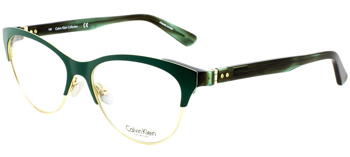 verde   dourado verde   dourado. Óculos Receituário Calvin Klein ... 36782ea624