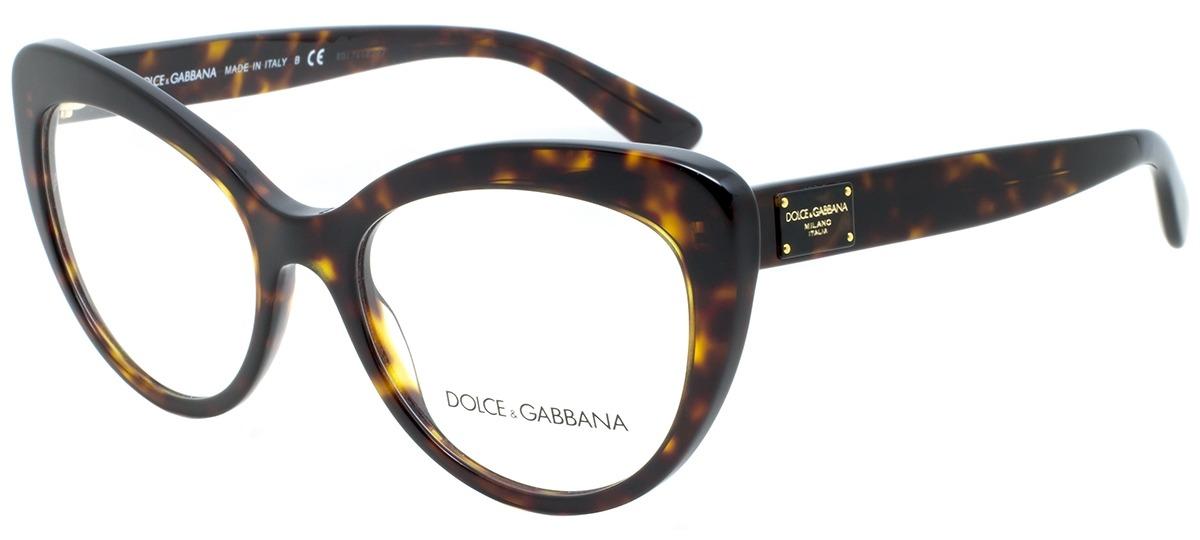 b5fd15ff37c2a Óculos Receituário Dolce   Gabbana 3255 502   Ótica Mori