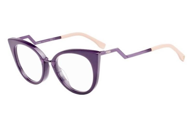 515a117e0cf2d Óculos Receituário Fendi Orchidea 0119 zb1   Ótica Mori