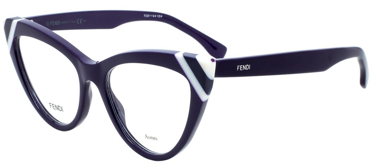 1e5738eb0 Óculos Receituário Fendi Waves 0245 B3V > Ótica Mori