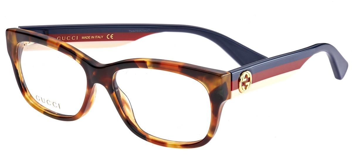 3e802196ea1e3 Oculos Gucci Azul. Gucci GG 3789 - KF1 53 Óculos de Grau na eÓtica