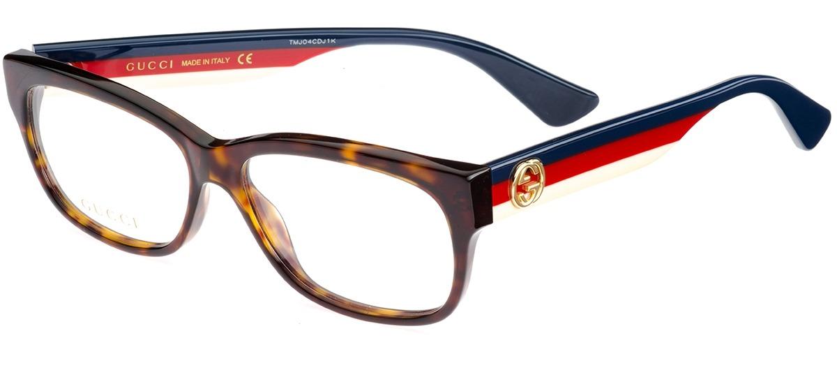 e9cb6cf727e9c Óculos Receituário Gucci 0278O 006   Ótica Mori