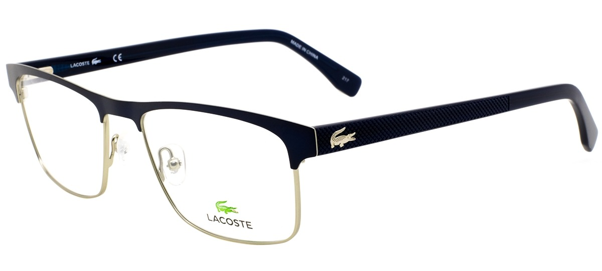 azul   prata azul   prata. Óculos Receituário Lacoste 2198 424 ... d72495e739