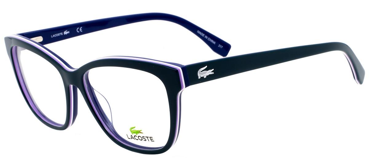 verde   lilás   branco   azul verde   lilás   branco   azul. Óculos  Receituário Lacoste ... 825f1809eb