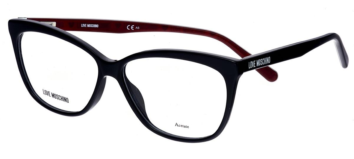 7e8266153c869 preto   vermelho preto   vermelho. vermelho vermelho. Óculos Receituário  Love Moschino ...