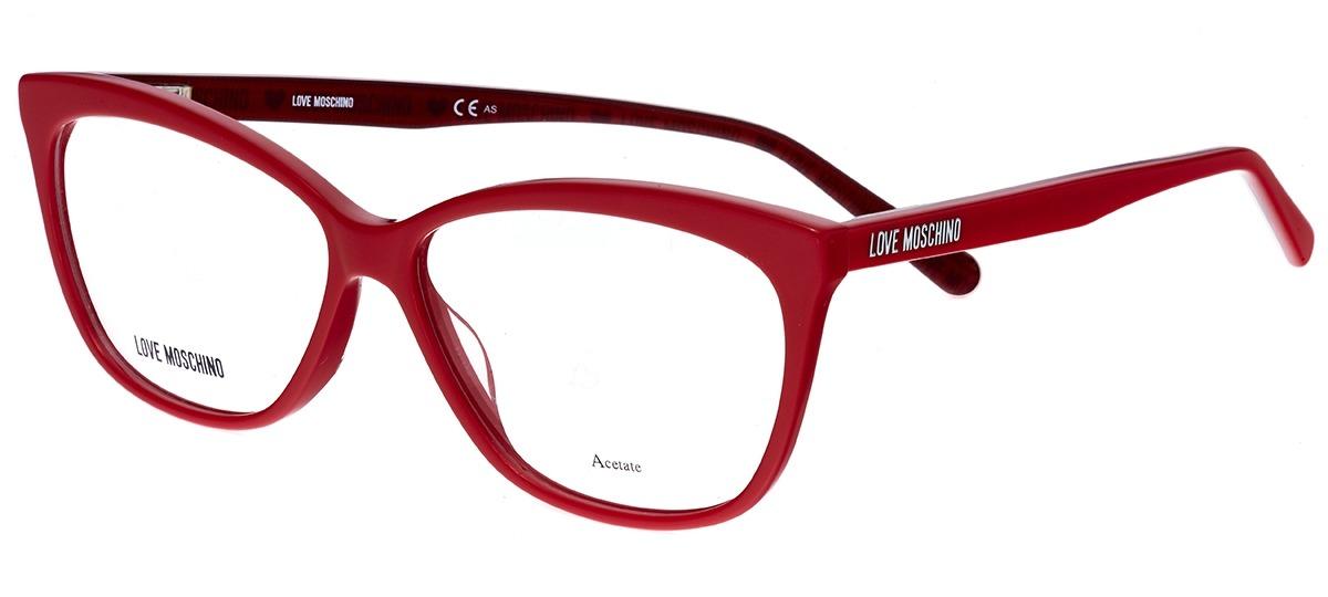 vermelho vermelho. Óculos Receituário Love Moschino 506 ... 2b27273a17