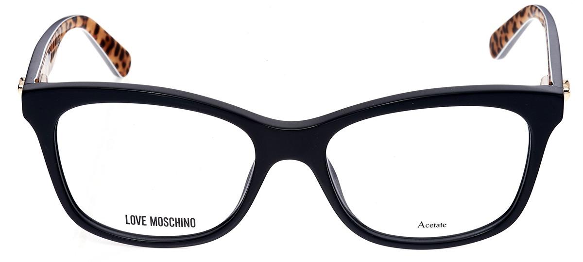 4c86bce71 preto. Thumb Óculos Receituário Love Moschino 517 807 ...