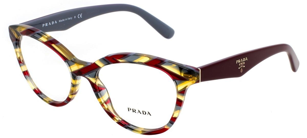 5ce9d2195868c Óculos Receituário Prada 11RV VAP-1O1   Ótica Mori