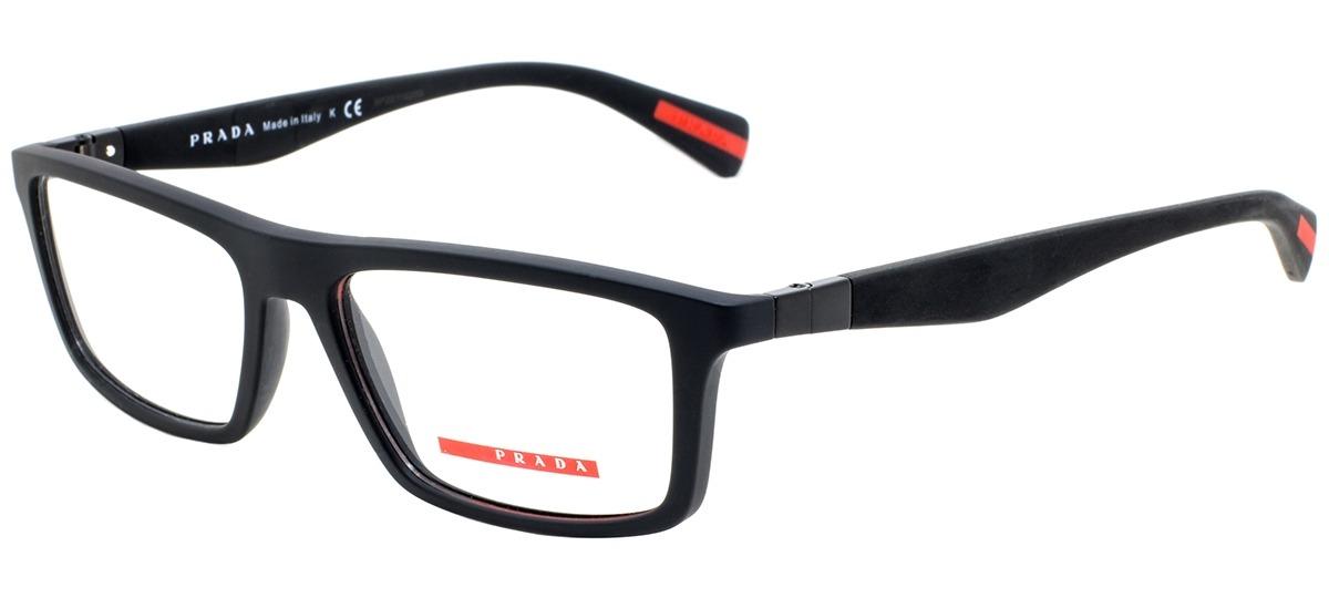 d6f4c878b Óculos Receituário Prada Linea Rossa 02FV DG0-1O1 > Ótica Mori