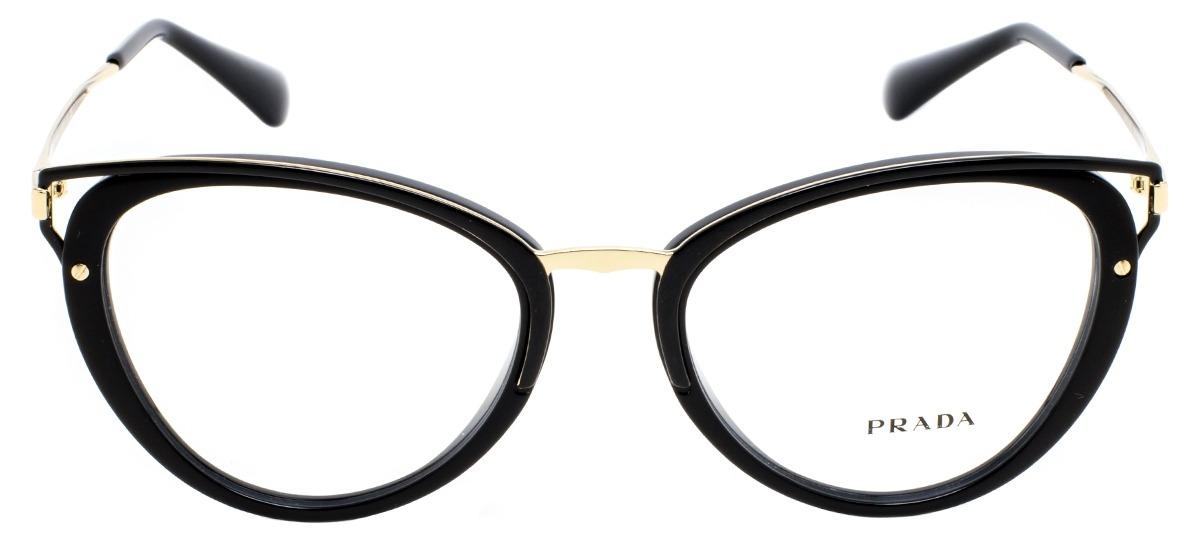 Óculos Receituário Prada Wanderer Evolution 53UV 1AB-1O1   Ótica Mori eccc75473f