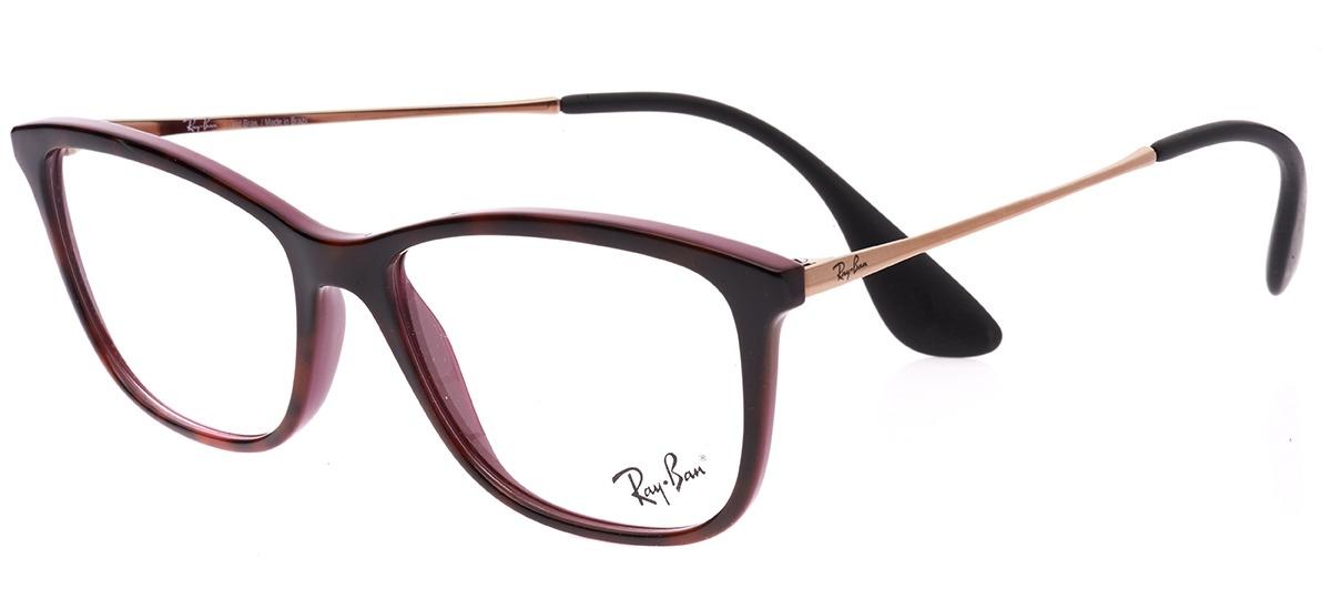1ef4be4cfcc87 marrom   roxo   rose marrom   roxo   rose · Óculos Receituário Ray Ban ...