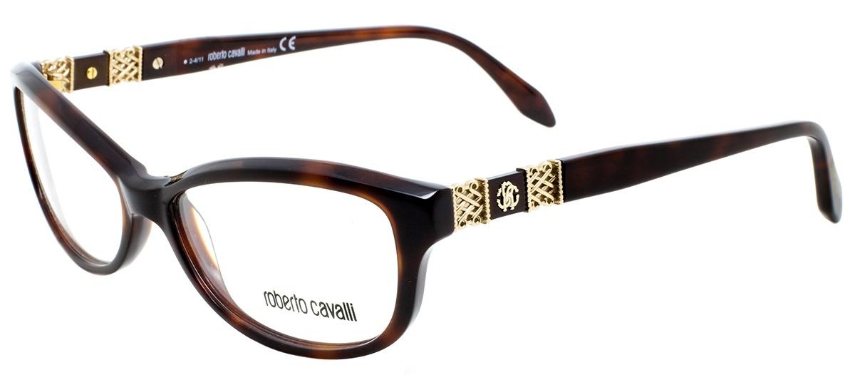 marrom   dourado marrom   dourado. Óculos Receituário Roberto Cavalli ... a564078c78