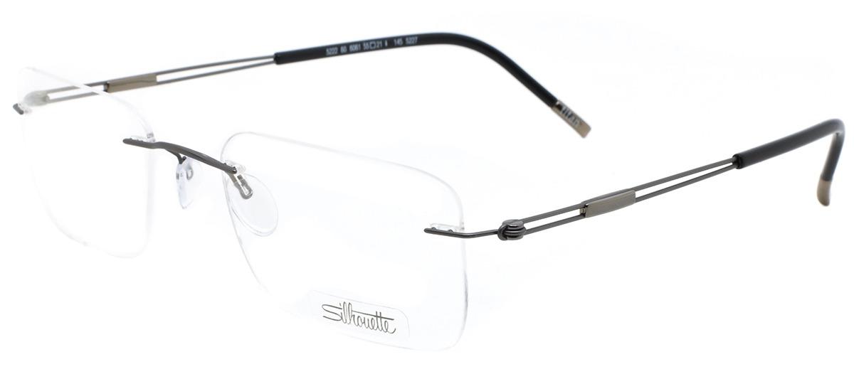 5443ff8b27386 Óculos Receituário Silhouette TNG 5222 60 6061   Ótica Mori