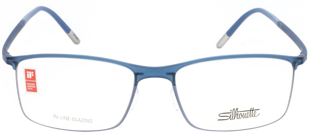 137b49ee5c373 Óculos Receituário Silhouette Urban Fusion Fullrim 2904 40 6054 ...