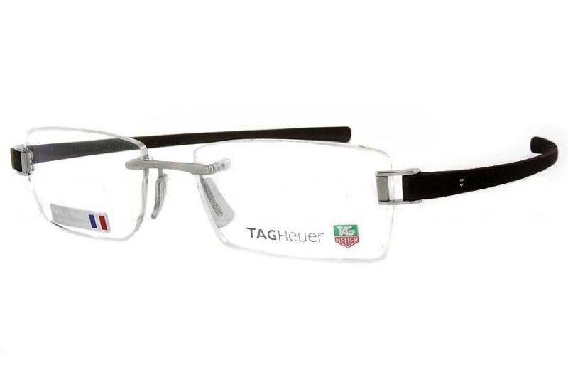 0cbf16b300ecc Óculos Receituário Tag Heuer 7104 001   Ótica Mori