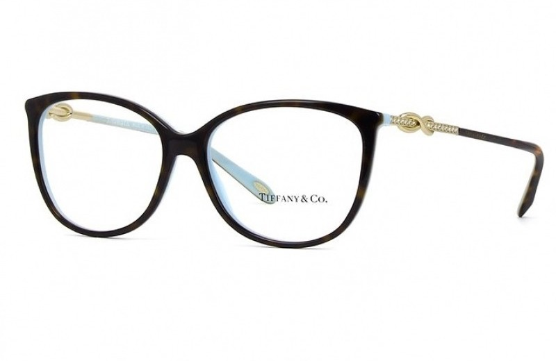 df4a6e8f74d64 Óculos Receituário Tiffany   Co. Tiffany Infinity TF 2143-B 8134 ...