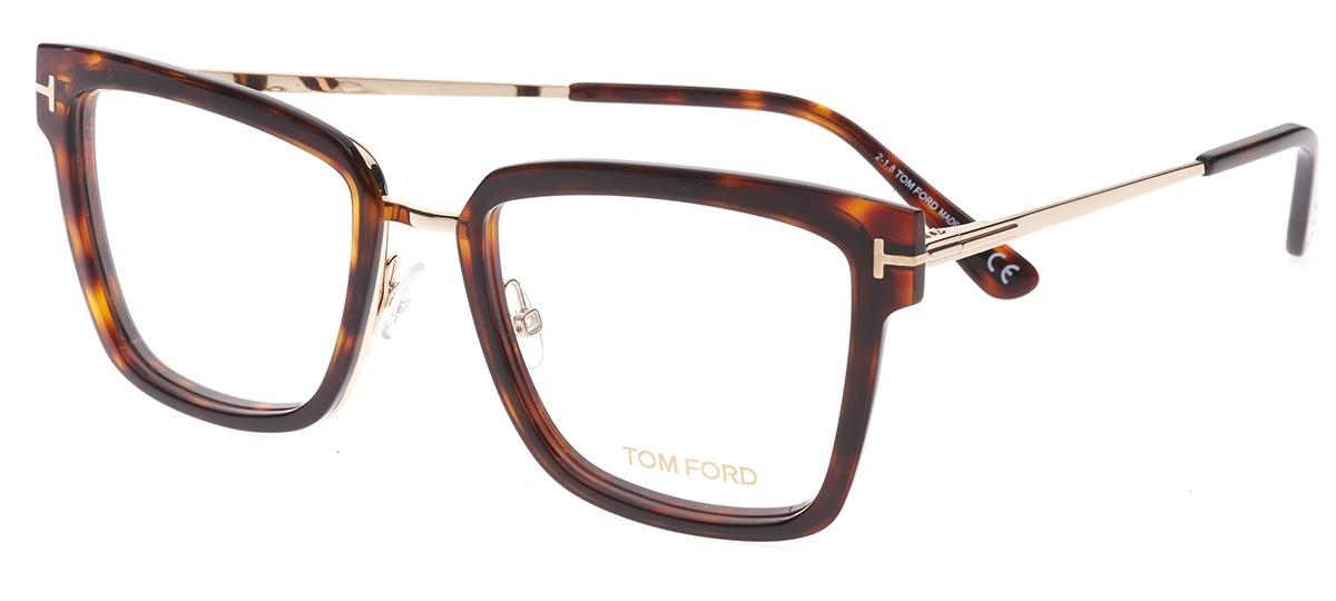 b59c310664d52 marrom   dourado marrom   dourado · Óculos Receituário Tom Ford ...